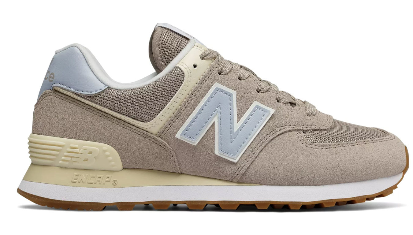 online mujer new balance 574 outside in zapatillas claro