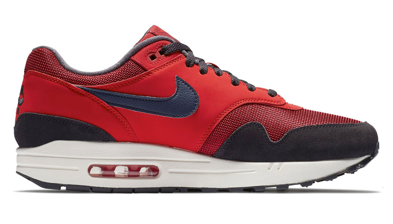 Nike Air Max 1 Red CrushMidnight Navy University Red AH8145 600