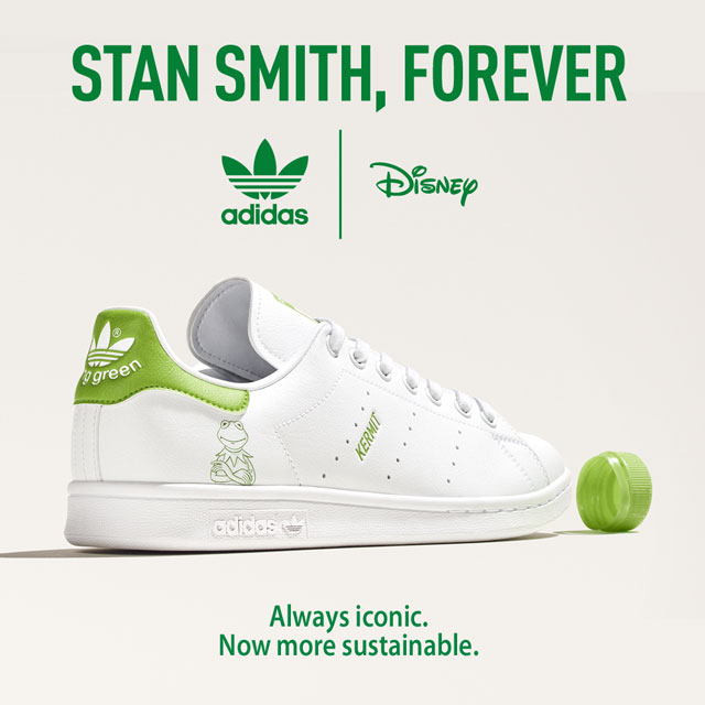 adidas Stan Smith Primegreen from plastic waste